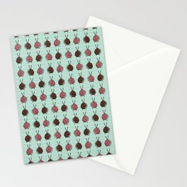 Ball of knitting yarn crafts Stationery Cards