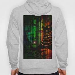 """"""" In the black, all the colors agree. """" Hoody"""