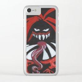The Demon: Finn Balor Clear iPhone Case