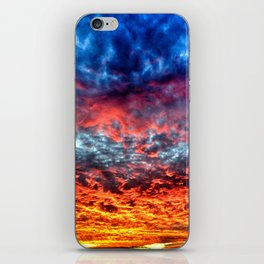 Red Sky at Night, Sailor's Delight iPhone Skin