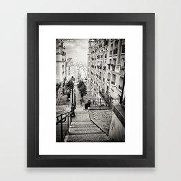 Bohemian downstairs Framed Art Print
