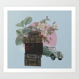 travel goals Art Print