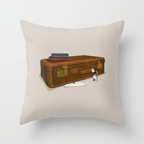 LOST Luggage / Sawyer Throw Pillow