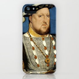 "Hans Holbein the Younger ""Portrait of Henry VIII of England"" iPhone Case"