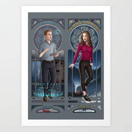 Art Nouveau - Fitzsimmons Art Print