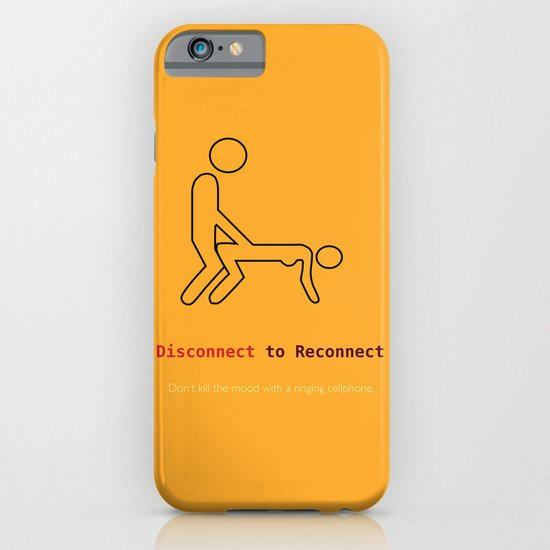 Disconnect to Reconnect iPhone & iPod Case