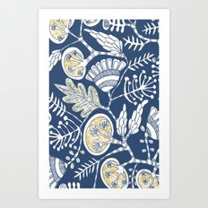 lush vine Art Print
