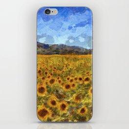 Vincent Van Gogh Sunflowers iPhone Skin