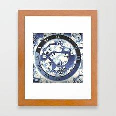 Wall Clock 008 Framed Art Print