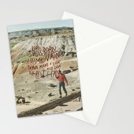 Ramblin' Man Stationery Cards