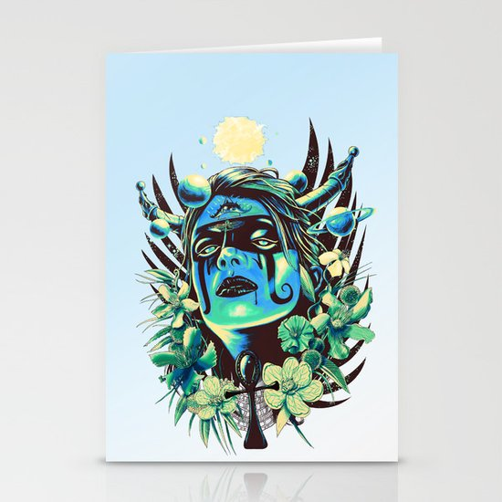 Hathor (Cool) Stationery Cards