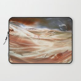 You can land anytime, the truth will set us free Laptop Sleeve
