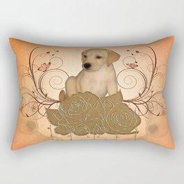 Cute little puppy Rectangular Pillow