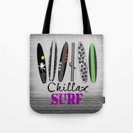 Chillax Surf Tote Bag