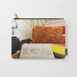 Vintage Travel - Chinese Stylish Carry-All Pouch