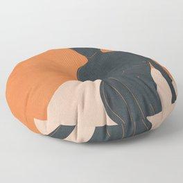 Abstract Nude III Floor Pillow