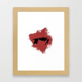 BOOMER! Framed Art Print