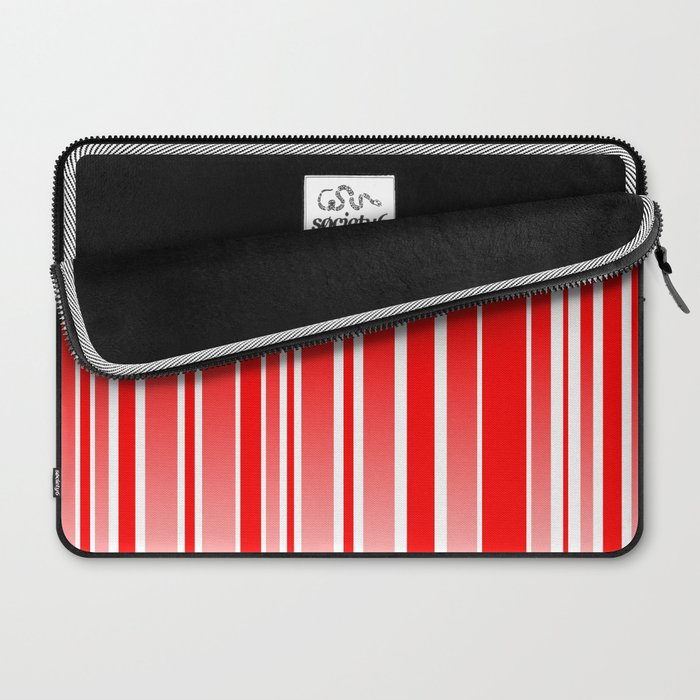 Red Track Laptop Sleeve