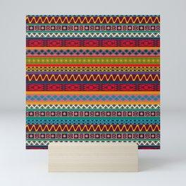 African pattern No4 Mini Art Print