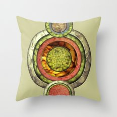 Tris Food Throw Pillow