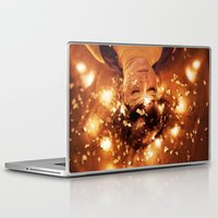 sleep Laptop & iPad Skins featuring Sleep by Mareva Nardelli