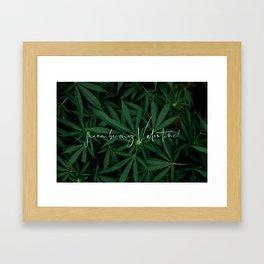 'Juana Be My Valentine? Framed Art Print