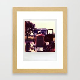 Hot Rod 3 Framed Art Print