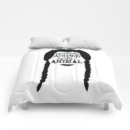 Wednesday Addams is my Spirit Animal Comforters