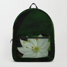 Wild Strawberry Blossom Backpack