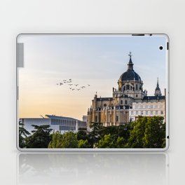 Almudena cathedral of Madrid Laptop & iPad Skin
