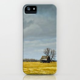 Left Alone iPhone Case
