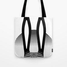 Peekaboo Rabbit Tote Bag