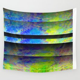 Yellow Color Blinds Wall Tapestry