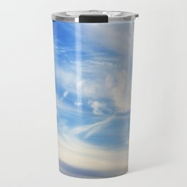 Clouds over Menton France in a summer day Travel Mug