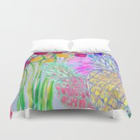 fancy Duvet Covers featuring FANCY  by Happy as Flynn