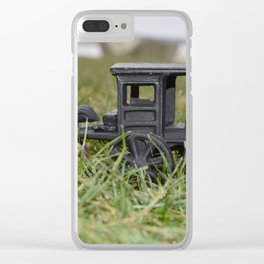 Amish Paradise Clear iPhone Case