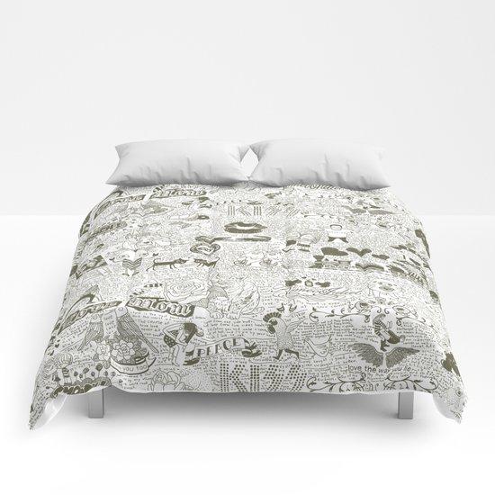 Love Stories Comforters