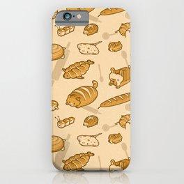 Live, Laugh, Loaf Pattern iPhone Case