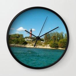 shoreline light Wall Clock
