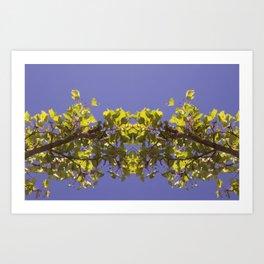 Asymmetrical Design Art Print