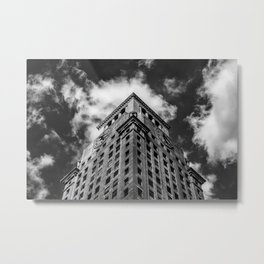 Consolidated Edison Building Metal Print
