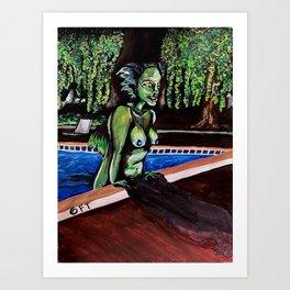 she-creature of the black lagoon Art Print
