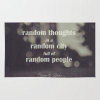 random Area & Throw Rugs featuring Random by Diana-E. Sarbu