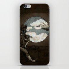 Aviator Girl (Steampunk) iPhone & iPod Skin