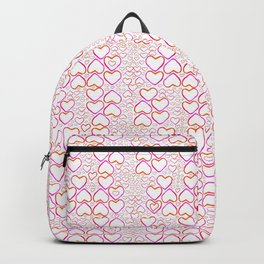 Little Pink Hearts Backpack
