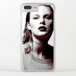 REPUTATION TAYLOR S Clear iPhone Case