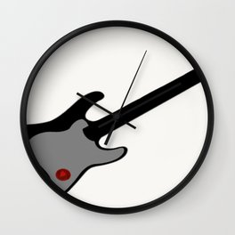 Music is My Heart Guitar Series Wall Clock