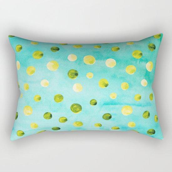 Polka Dot Pattern 07 Rectangular Pillow
