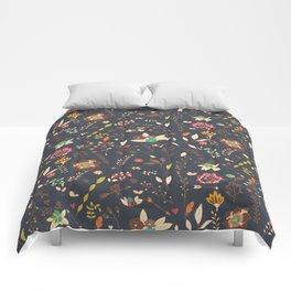 Flower pattern 02 Comforters