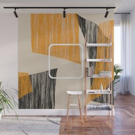 Abstract textured artwork II Wall Mural